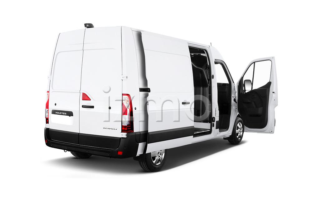 Car images close up view of a 2020 Renault Master Confort 4 Door Cargo Van doors