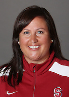 STANFORD, CA - OCTOBER 29:  Trisha Ford of the Stanford Cardinal softball team poses for a headshot on October 29, 2009 in Stanford, California.