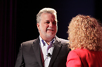 April 2013 File Photo - Philippe Couillard, Leader, Liberal Party of Quebec adress women to join the party.