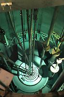 - LENA (Laboratorio Energia Nucleare Applicata dell'università di Pavia), reattore nucleare di ricerca TRIGA Mark II,  interno del reattore....- LENA (Applied Nuclear Energy Laboratory of Pavia university ), nuclear reactor for search TRIGA Mark II, inside of the reactor