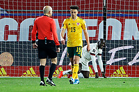 24th March 2021; Leuven, Belgium; Romelu Lukaku  of Belgium looks dejected after missing a scoring  opportunity during the World Cup Qatar 2022 Qualifiers Match between Belgium and Wales on March 24, 2021 in Leuven, Belgium