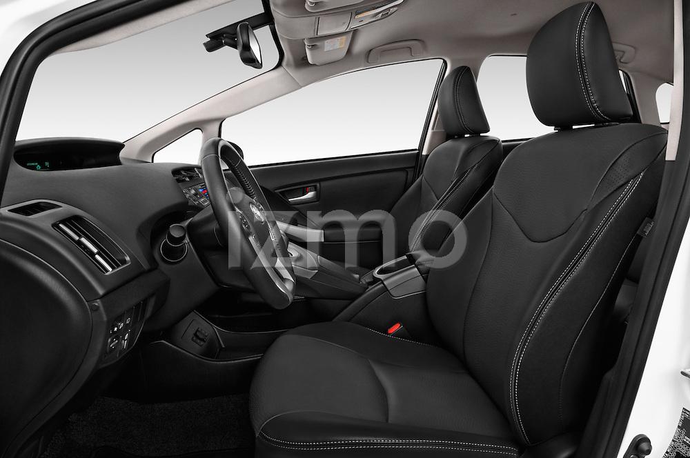 Front seat view of 2015 Toyota Prius Comfort 5 Door Hatchback Front Seat  car photos