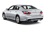 Car pictures of rear three quarter view of 2017 Nissan Altima S 4 Door Sedan Angular Rear