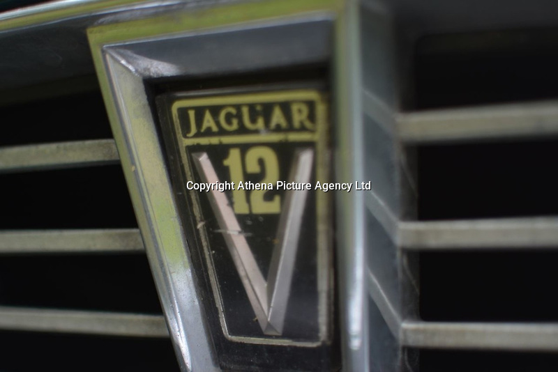 """Pictured: The radiator grille emblem on the bonnet of the Jaguar car up for auction, once owned by Eamonn Holmes<br /> Re: A luxury open-top car sold by TV's Eamonn Holmes to pay off his """"massive"""" tax bill is up for grabs at auction.<br /> The host of Good Morning Britain bought the 5.3 litre Jaguar when he was earning big bucks with the BBC.<br /> But Eamonn was made redundant and at the same time he was hit with an £11,000 demand from the Inland Revenue.<br /> The car was costing him a fortune to run - it did under 15mpg.<br /> After paying a whopping £36,000 for the Jaguar XJSC, Eamonn flogged it for just £8,000 a year later.<br /> The car has an identical price tag at auction almost 30 years later.    <br /> Eamonn, 57, told how he got shot of the Jag when the 1990 Gulf War sparked a big hike in fuel prices.<br /> He said: """"Cars are my weakness - in 1989 I bought a British Racing Green Jaguar.<br /> """"I paid £36,000 in March 1989 then in early 1990 the Gulf War broke out."""