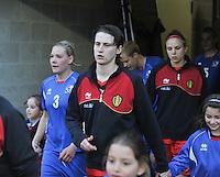 Qualification Women's Euro 2013 - Belgium - Iceland ; Belgie - Ijsland ; Armand Melis Stadion Dessel :.Heleen Jaques.foto DAVID CATRY / Vrouwenteam.be