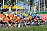 Robbi Weldon and Audrey Lemieux, Rio 2016 - Para Cycling // Paracyclisme.<br /> Team Canada athletes compete in women's Cycling Road B Race // Les athlètes d'Équipe Canada participent à la course cycliste féminin sur route B. 17/09/2016.