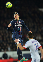 Zlatan IBRAHIMOVIC  (psg) .Football Calcio 2012/2013.Ligue 1 Francia.Foto Panoramic / Insidefoto .ITALY ONLY