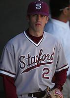 Stanford pitcher Brandt Walker in 2007. Photo by Andrew Woolley.