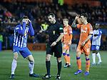09.02.2019 Kilmarnock v Rangers: Kirk Broadfoot penalised