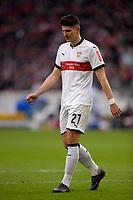 11.03.2018,  Football 1.Liga 2017/2018, 26. match day,  VfB Stuttgart - RB Leipzig, in Mercedes-Benz-Arena Stuttgart. Mario Gomez (Stuttgart) . *** Local Caption *** © pixathlon<br /> <br /> Contact: +49-40-22 63 02 60 , info@pixathlon.de