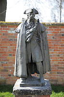 BNPS.co.uk (01202) 558833.<br /> Pic: Duke's/BNPS<br /> <br /> Pictured: The most staggering result was arguably a bronze garden statue of General Wolfe which was acquired by a Canadian bidder for £46,800 - from a £2,000 estimate. <br /> <br /> The lavish contents of one of Britain's most beautiful stately homes have sold for almost £2million after capturing high society's imagination.<br /> <br /> Over 1,600 items were auctioned off from Wormington Grange, a neoclassical mansion in the Cotswolds, during the hotly contested three-day sale.<br /> <br /> The sale included what the auctioneers described as the 'most important' collection of country house furniture to emerge on the market for decades.