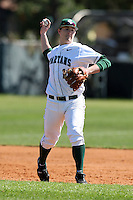 February 26, 2010:  Shortstop Andrew Carpenter of the Michigan State Spartans during the Big East/Big 10 Challenge at Raymond Naimoli Complex in St. Petersburg, FL.  Photo By Mike Janes/Four Seam Images