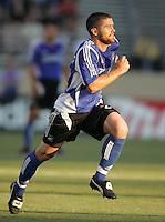 29 June 2005:  Wade Barrett of Earthquakes in action against Rapids at Spartan Stadium in San Jose, California.   Earthquakes defeated Rapids, 1-0.  Mandatory Credit: Michael Pimentel / ISI