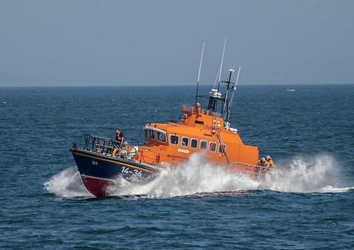 Donaghadee Lifeboat Evacuates Sick Passenger From Cruise Ship