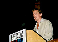 august 30, 1995 file photo - Jean-Marc Vallee present his first movie LISTE NOIRE at the  1995 World Film Festival<br /> <br /> PHOTO : (c) Pierre Roussel,1995