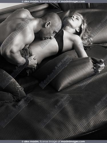 Man woman making love canvas Couple Making Love Sensual Stock Photo Fashion Commercial Fine Art Stock Photo Archive