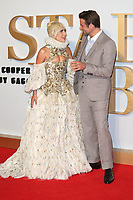 """Lady Gaga and Bradley Cooper<br /> at the premiere of """"A Star is Born"""", Vue West End, Leicester Square, London<br /> <br /> ©Ash Knotek  D3436  27/09/2018"""