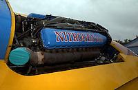"""V-12 Allison engine in the U-79/2 """"Nitrogen Too"""" (b.1960)."""