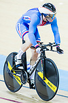 Tomas Baber of Czech Republic competes in the Men's Kilometre TT Final during the 2017 UCI Track Cycling World Championships on 16 April 2017, in Hong Kong Velodrome, Hong Kong, China. Photo by Chris Wong / Power Sport Images