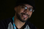 © Joel Goodman - 07973 332324 . 07/06/2015 . Manchester , UK . RONI SIZE ( Ryan Williams ) backstage at The Parklife 2015 music festival in Heaton Park , Manchester . Photo credit : Joel Goodman