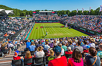 Den Bosch, Netherlands, 13 June, 2017, Tennis, Ricoh Open, Overall view of centercourt<br />