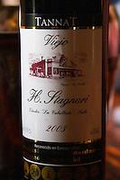 Tannat Viejo H Stagnari Vinedos La Caballado 2003 Bodega Vinos Finos H Stagnari Winery, La Puebla, La Paz, Canelones, Montevideo, Uruguay, South America