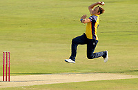 Aaron Beard of Essex in bowling action during Essex Eagles vs Surrey, Vitality Blast T20 Cricket at The Cloudfm County Ground on 11th September 2020