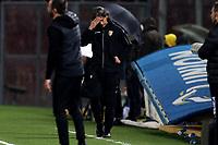 Filippo Inzaghi coach of Benevento Calcio reacts during the Serie A football match between Benevento Calcio and US Sassuolo at Ciro Vigorito stadium in Benevento (Italy), April 12th, 2021. Photo Cesare Purini / Insidefoto