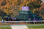 November 7, 2020 :Horses launch out of the gate during the Qatar Fort Springs Stakes on Breeders' Cup Championship Saturday at Keeneland Race Course in Lexington, Kentucky on November 7, 2020. Carolyn Simancik/Breeders' Cup/Eclipse Sportswire/CSM