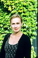 Sandrine Bonnaire, è un'attrice e regista francese. Lido, 5 settembre 1998. Photo by Leonardo Cendamo/Getty Images