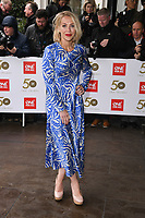 Laura Hamilton<br /> arriving for the TRIC Awards 2019 at the Grosvenor House Hotel, London<br /> <br /> ©Ash Knotek  D3487  08/03/2019