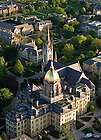 May 16, 2011; Main Quad aerial..Photo by Matt Cashore/University of Notre Dame
