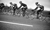 OmegaPharma-QuickStep train domination the whole peloton<br /> <br /> Omloop Het Nieuwsblad 2014