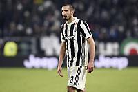 Giorgio Chiellini<br /> Torino 28-02-2018 Allianz Stadium Calcio Coppa Italia Tim Cup Juventus - Atalanta foto Image Sport/Insidefoto