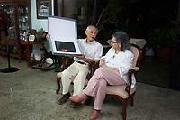 Cooperação Brasil e Japão na pesquisa científica sobre contaminação por mercúrio<br /> <br /> Hirokatsu Akagi, pesquisador do Instituto Nacional para a Doença de Minama no Japão, Elisabeth Santos, ex diretora do IEC