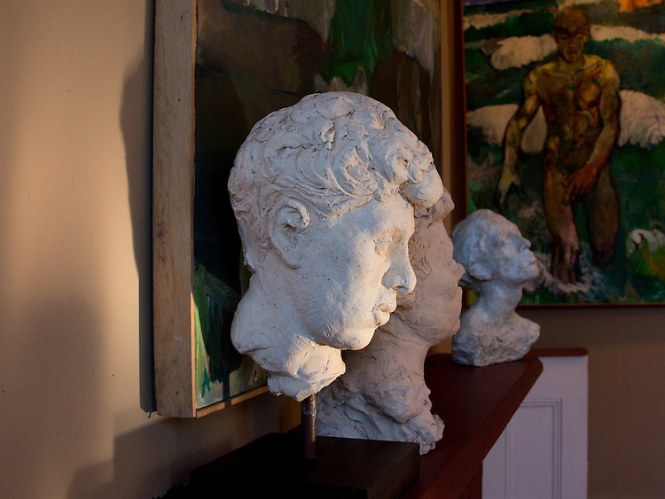 Port Townsend, Gallery Andrew Martin, An art museum devoted to the mid-20th century artist Andrew Martin, Paintings. sculpture,  housed in an 1889 Victorian mansion in Port Townsend's Uptown neighborhood, Jefferson County, Olympic Peninsula, Washington State,