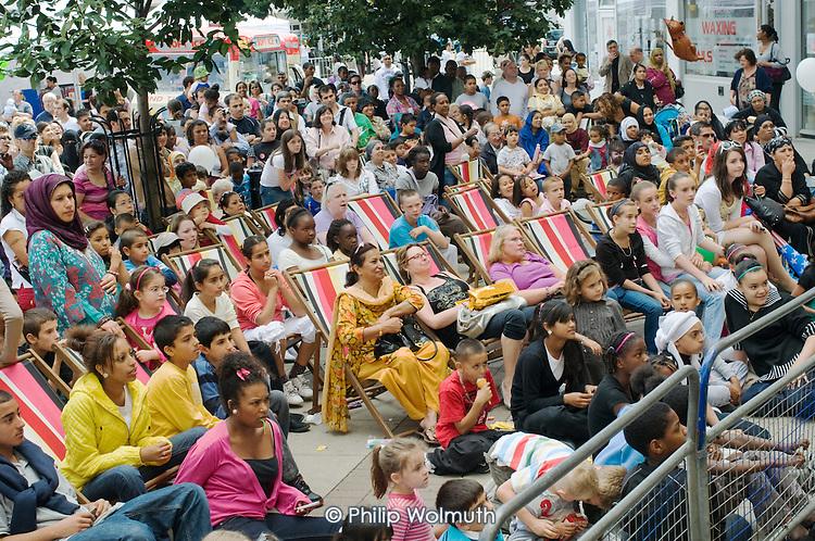 Church Street Summer Festival 2009, organised by Church Street Neighbourhood Forum.