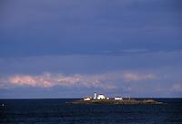 Entrance Island Lighthouse Stationin the Georgia Strait, BC, Canada