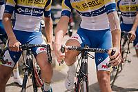 ready to race!<br /> <br /> 3rd Dwars Door Het hageland 2018 (BEL)<br /> 1 day race:  Aarschot > Diest: 198km