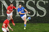 Ian MCKinley Wales , Michele Campagnaro Italy <br /> Roma 9-02-2019 Stadio Olimpico<br /> Rugby Six Nations tournament 2019  <br /> Italy - Wales <br /> Foto Andrea Staccioli / Resini / Insidefoto