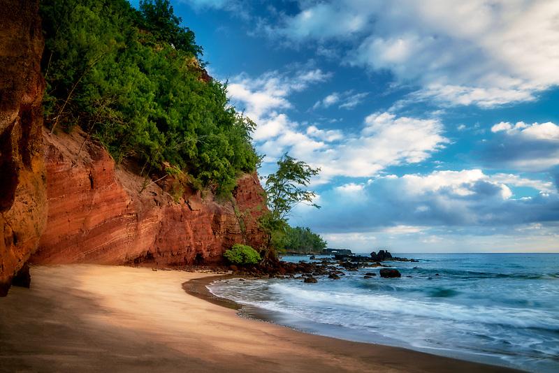 Koki Beach . Maui, Hawaii
