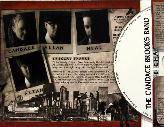 The Candace Brooks Band CD