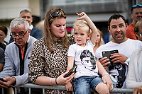 Wout van Aert fans waiting for God to show up<br /> <br /> Men Elite Individual Time Trial <br /> from Knokke-Heist to Bruges (43.3 km)<br /> <br /> UCI Road World Championships - Flanders Belgium 2021<br /> <br /> ©kramon