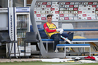 Will Buttleman of Essex waits in the dugout ahead of Essex Eagles vs Sussex Sharks, Vitality Blast T20 Cricket at The Cloudfm County Ground on 15th June 2021