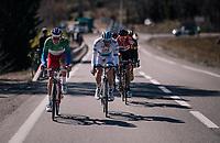 Alexander Kristoff  (NOR/UAE) & Arnaud Démare (FRA/Groupama-FDJ) powering the breakaway<br /> <br /> 76th Paris-Nice 2018<br /> stage 6: Sisteron > Vence (198km)