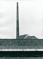 Ziegelei in Seestermühe, Schleswig-Holstein, Deutschland 1986