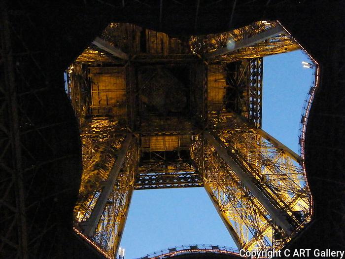 Eiffel Tower 1, Paris, France