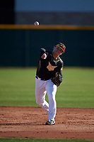 Aj Whiteherse during the Under Armour All-America Tournament powered by Baseball Factory on January 18, 2020 at Sloan Park in Mesa, Arizona.  (Zachary Lucy/Four Seam Images)