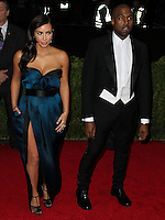 """NEW YORK CITY, NY, USA - MAY 05: Kim Kardashian, Kanye West at the """"Charles James: Beyond Fashion"""" Costume Institute Gala held at the Metropolitan Museum of Art on May 5, 2014 in New York City, New York, United States. (Photo by Xavier Collin/Celebrity Monitor)"""
