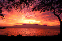 Sunrise at Maalaea, Maui.